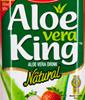 Aloe Vera Drink mit Erdbeergeschmack
