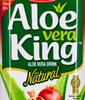 Aloe Vera Drink mit Granatapfel Geschmack